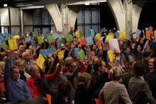 Sfeerfoto Partijcongres PvdA op 3 november 2012