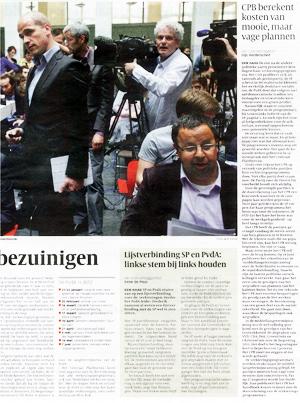 Sander Terphuis in de Volkskrant